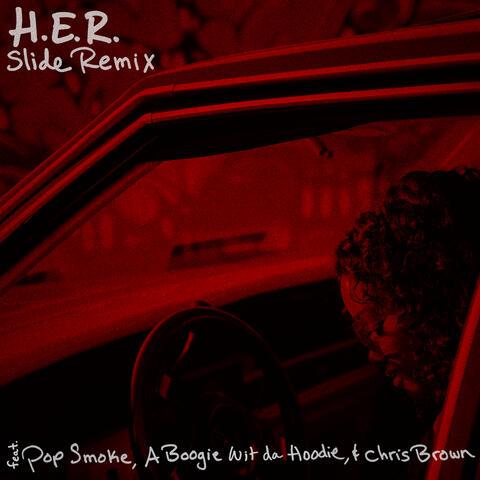 Slide (Remix) (feat. Pop Smoke, A Boogie Wit da Hoodie & Chris Brown)