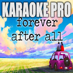 Forever After All (Originally Performed by Luke Combs)