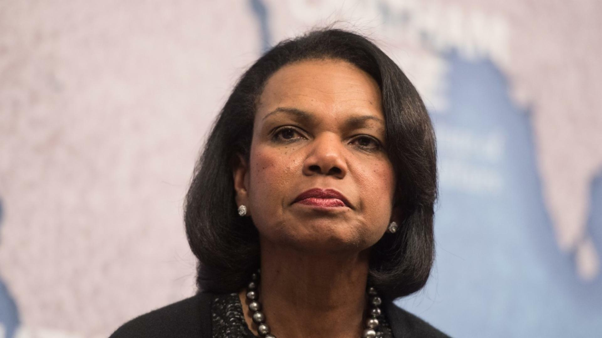 Condi rice throws support behind trump he seeks what 39 s for Whats news laporte