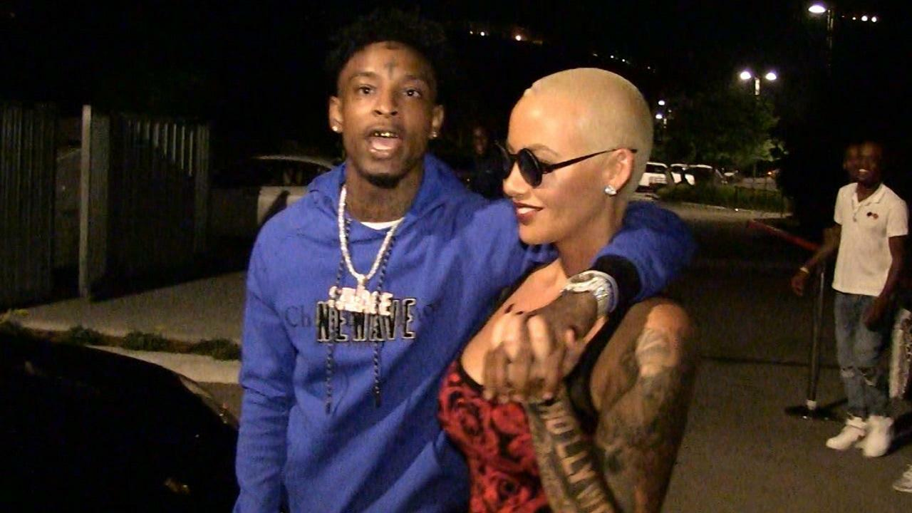 savage dating It's pretty amazing waking up every morning feeling love like this, amber rose captioned a photo of her and 21 savage in bed.