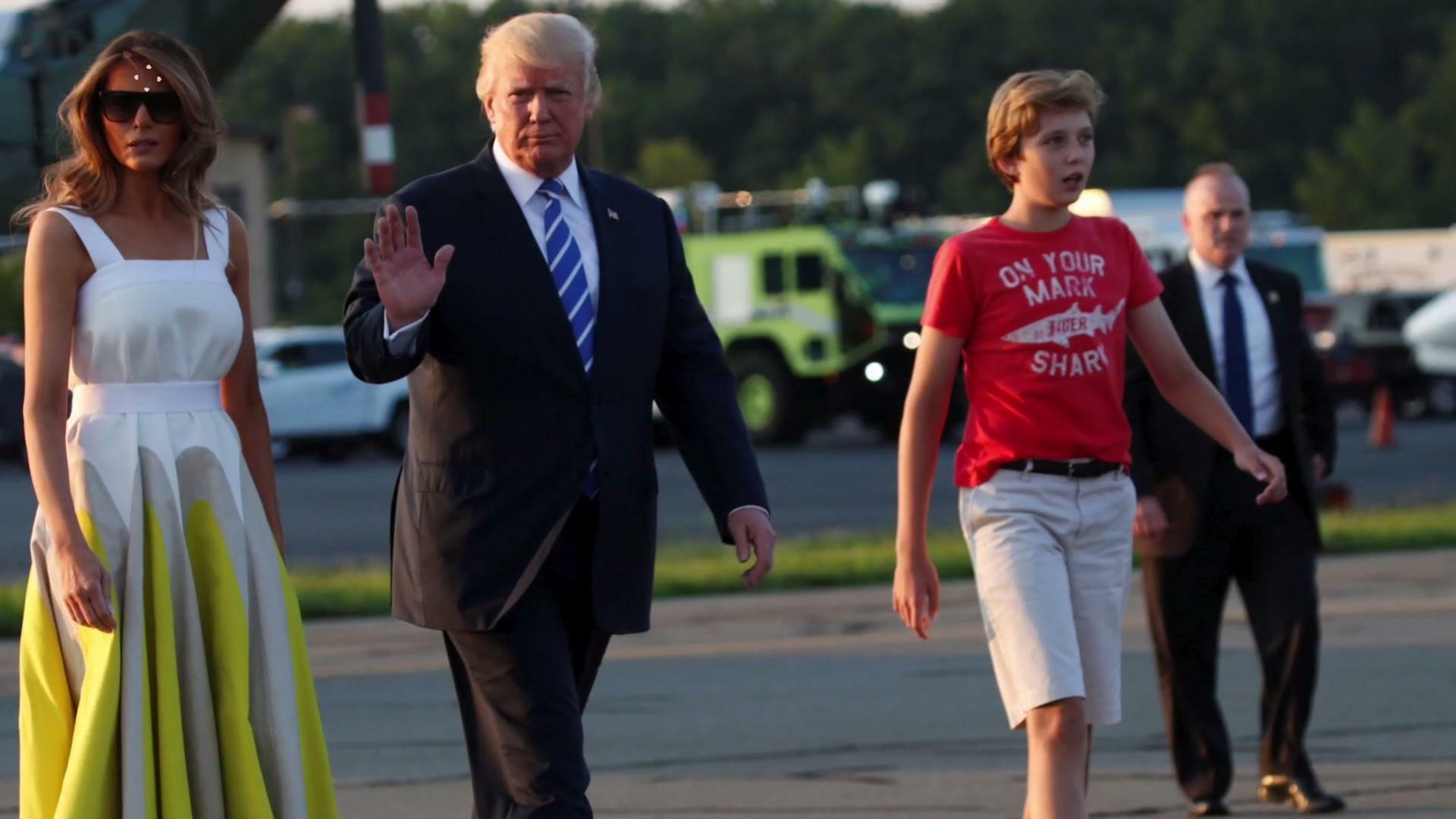 After Website Blasts Barron's Clothes Chelsea Goes to Bat