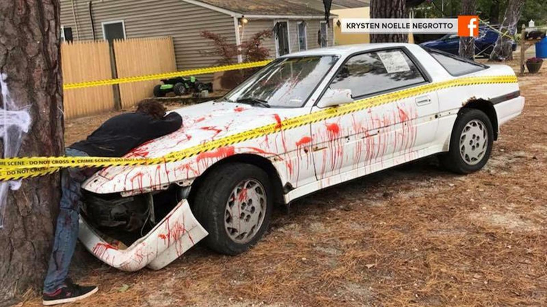 Police Called Over Gruesome Halloween Decorations | iHeartRadio