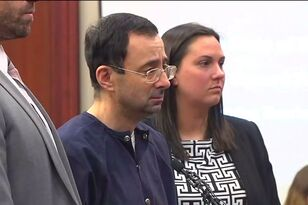 Ex-Gymnastics Doctor Larry Nassar Sentenced To Up To 175 Years In Prison