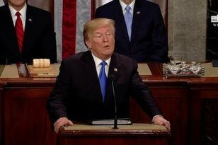 President Trump Promotes American Strength In First State Of The Union