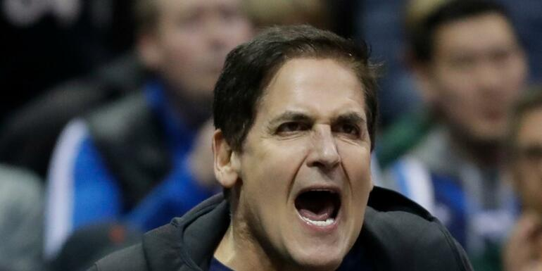 NBA Fines Mavericks' Mark Cuban For Tanking Comments