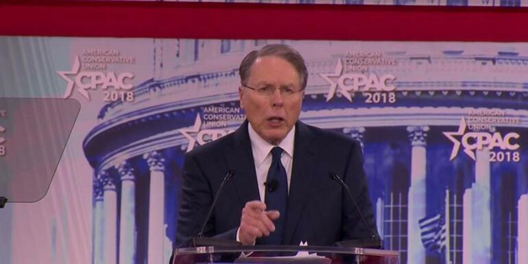 "NRA Head Tells CPAC That Gun Control Advocates ""Hate Individual Freedom"""