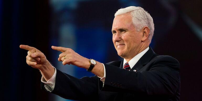 Mike Pence Touts President Trump's First Year