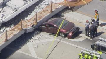Breaking News - At Least Four People Dead After Pedestrian Bridge Collapses Near FIU