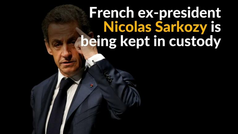 French Ex-President Sarkozy Charged With Taking Libya Campaign Cash