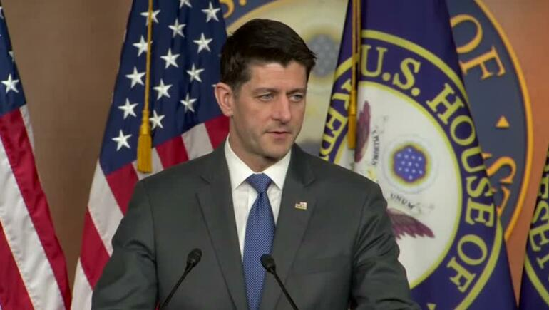 Paul Ryan: No Kind Words For Vladimir Putin