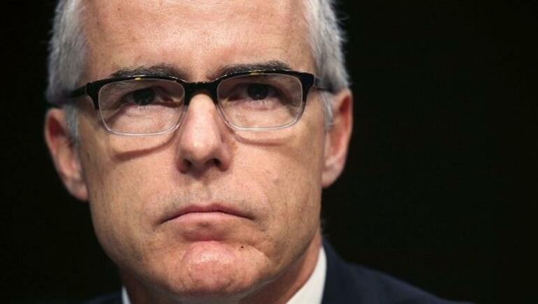 DOJ Report Recommends Andrew McCabe Face Charges
