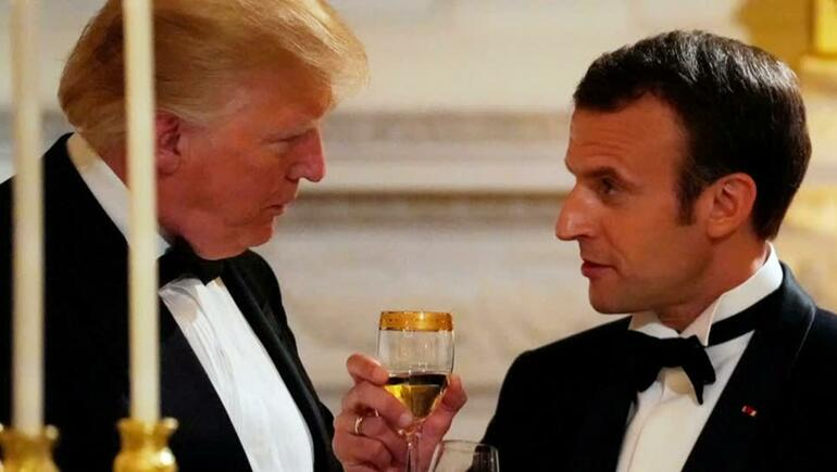 French President Attends State Dinner In Washington, D.C.