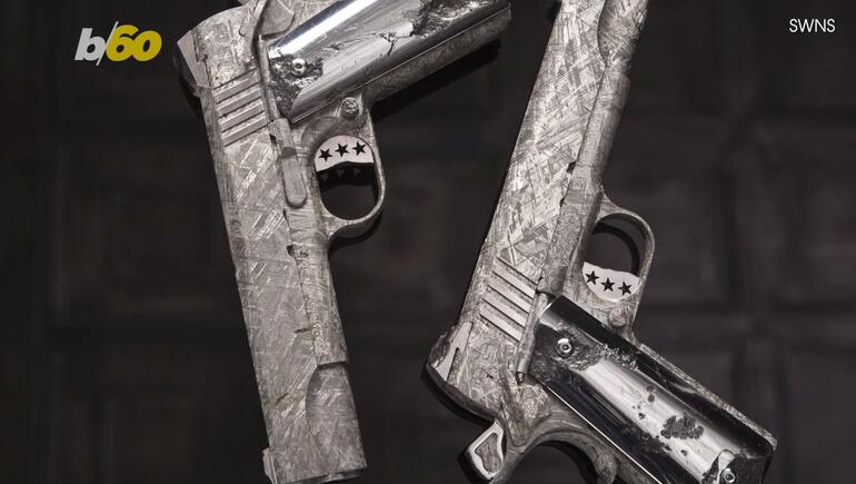 Company Sells $4.5 Million Pistols Made From 4.5-Billion-Year-Old Meteorite