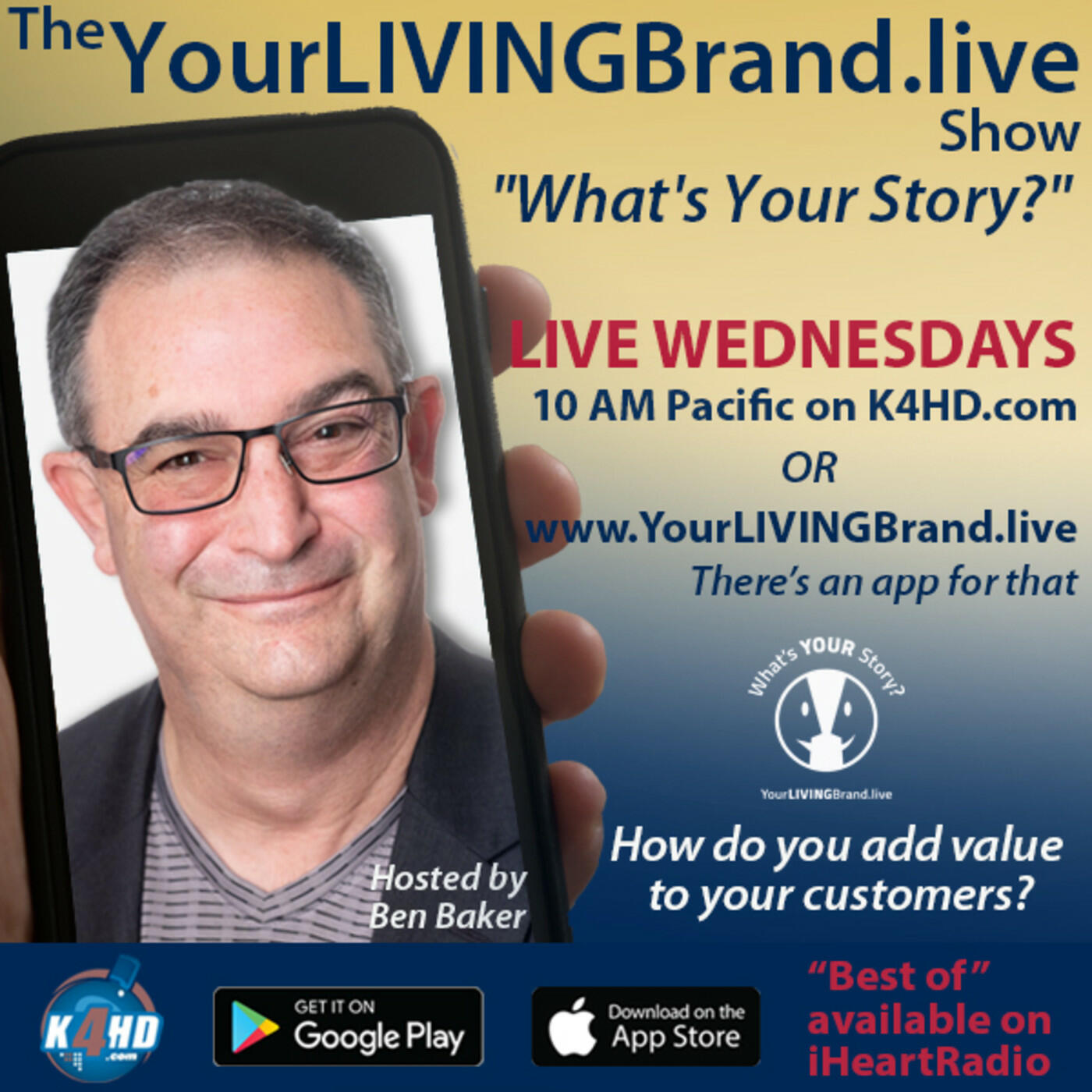 The YourLIVINGBrand.live Show