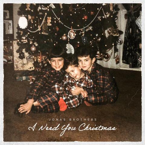 I Need You Christmas album art