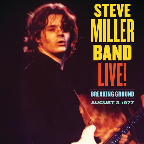 Live! Breaking Ground August 3, 1977 album art