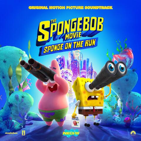 The SpongeBob Movie: Sponge On The Run album art