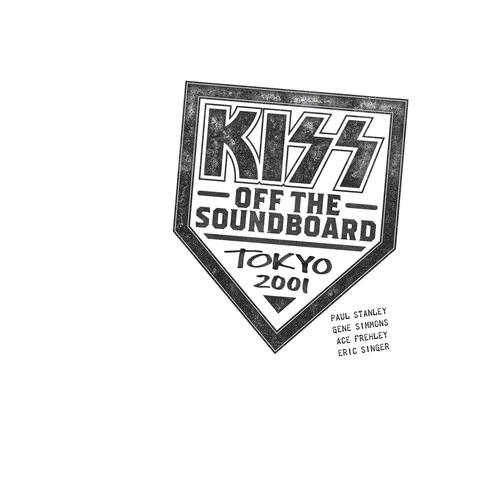 KISS Off The Soundboard: Tokyo 2001 album art
