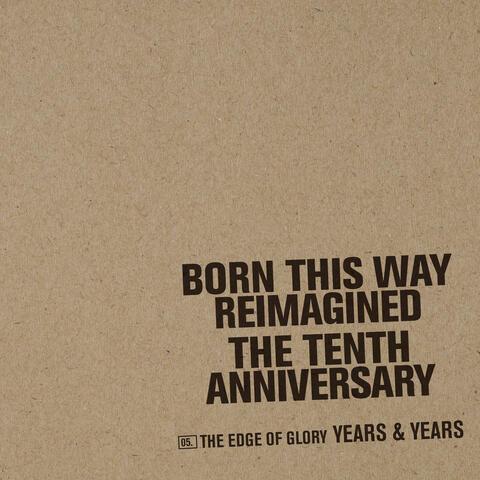 The Edge Of Glory album art