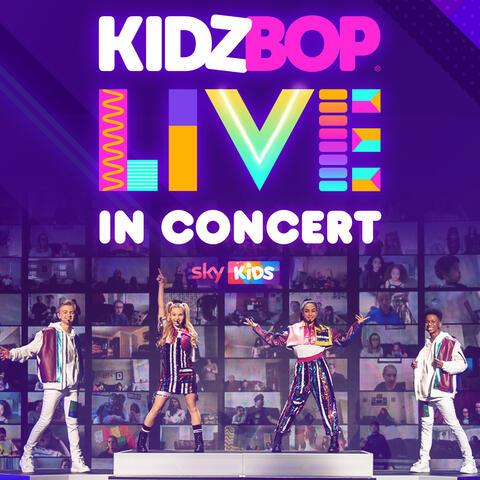 KIDZ BOP Live In Concert album art