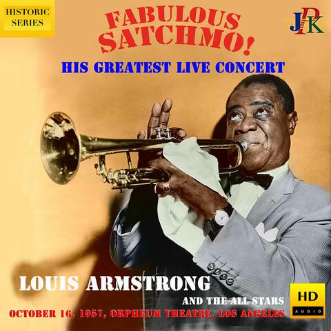 Louis Armstrong: Live at the Orpheum Theater, Los Angeles (2021 Remaster) album art