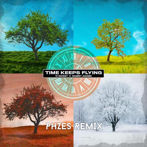 time keeps flying album art