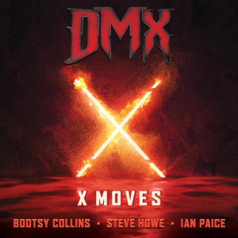 X Moves album art