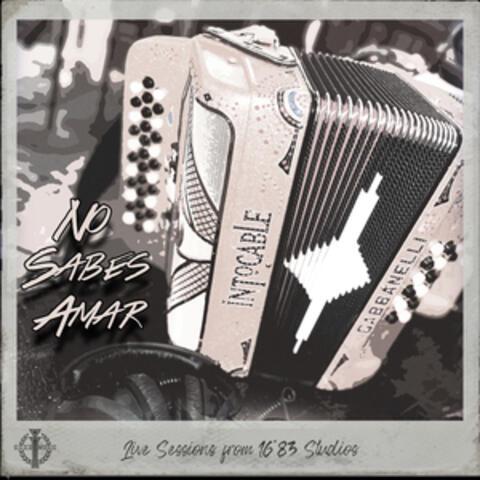 No Sabes Amar album art