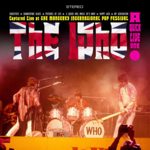 Live at the Monterey International Pop Festival album art