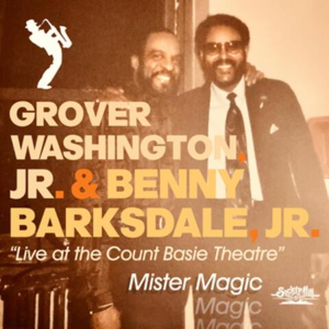 Mister Magic - Live at the Count Basie Theatre album art