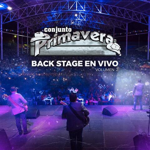 Backstage En Vivo, Vol. 2 album art