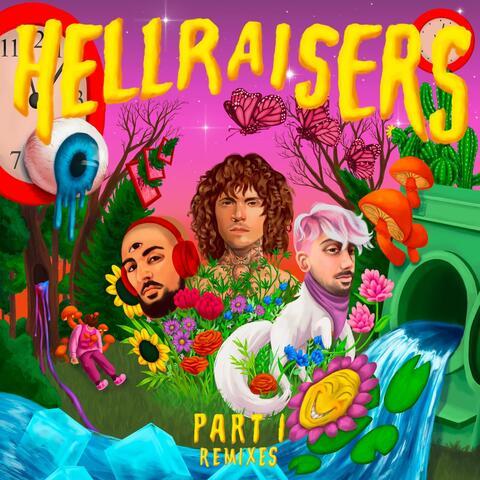 HELLRAISERS Part 1 (Remixes) album art