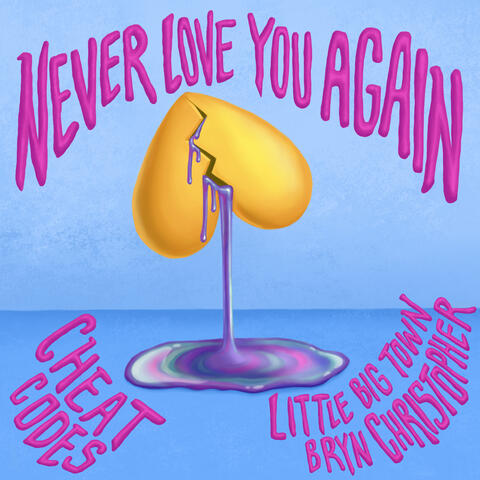 Never Love You Again (with Little Big Town & Bryn Christopher) album art