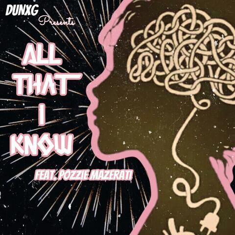 All That I Know album art