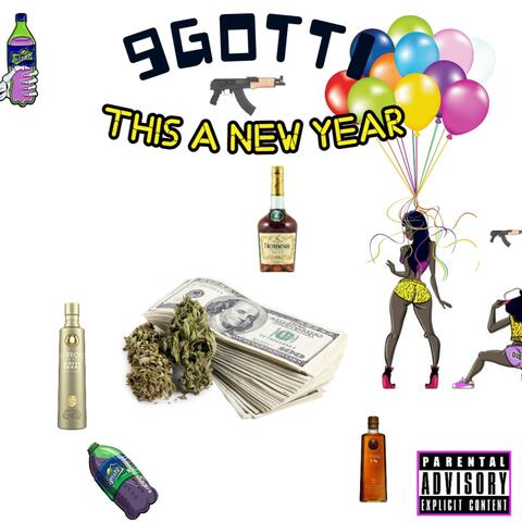 This A New Year album art