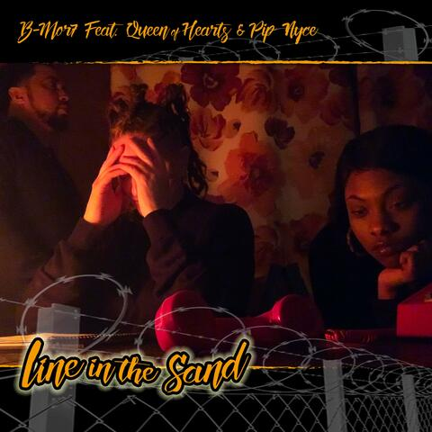 Line in the Sand (feat. Queen of Hearts & Pip Nyce) album art