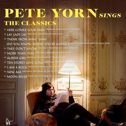 Pete Yorn Sings the Classics album art