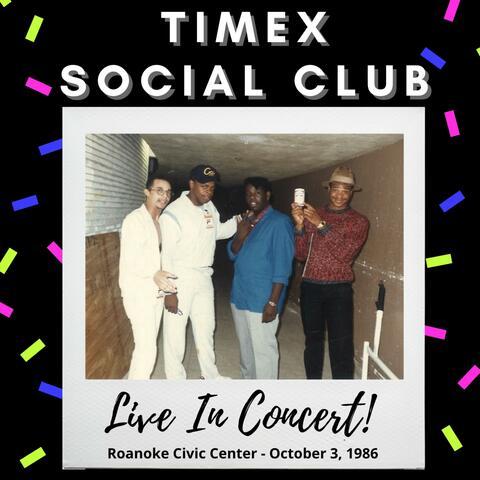 Live In Concert! Roanoke Civic Center (October 3, 1986) album art