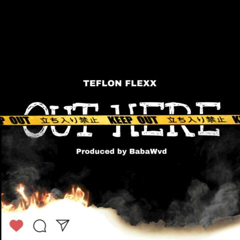 Out Here album art