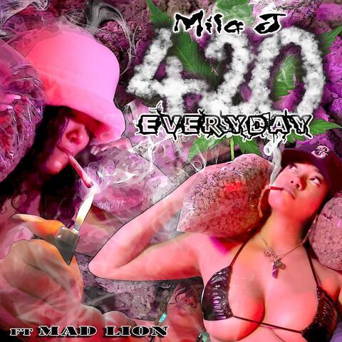 Everydays 420 (feat. MAD LION) album art