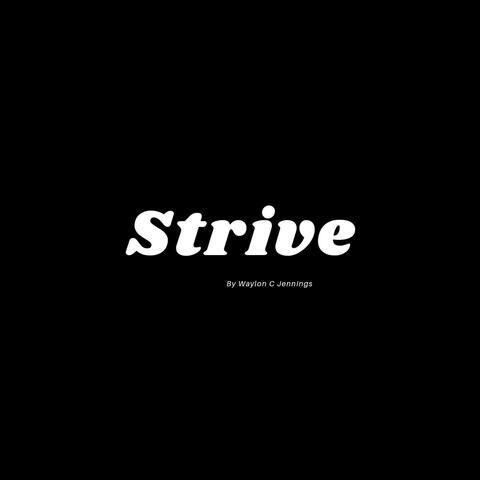 Strive album art