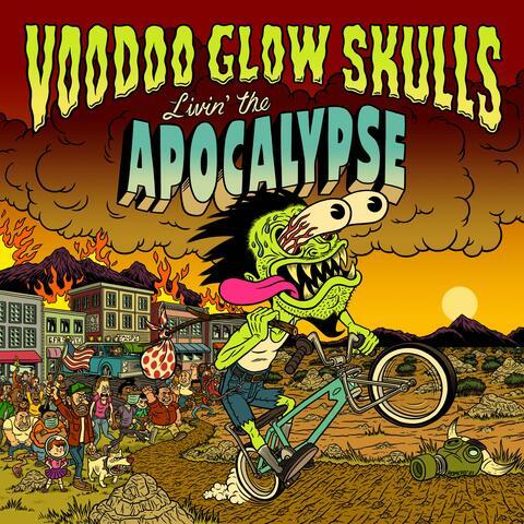 Livin' the Apocalypse album art