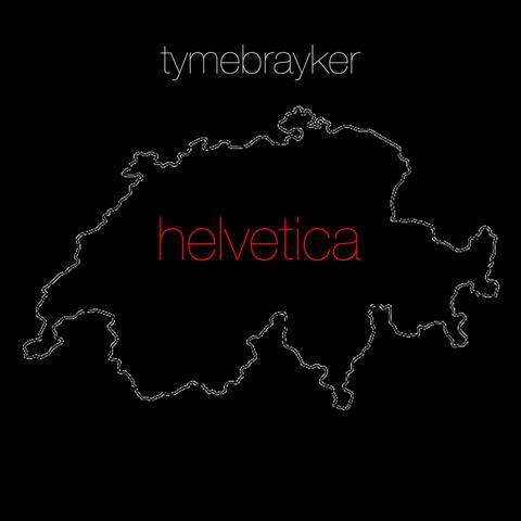Helvetica album art