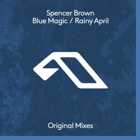 Blue Magic / Rainy April album art