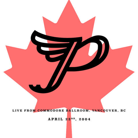 Live from Commodore Ballroom, Vancouver, BC. April 22nd, 2004 album art