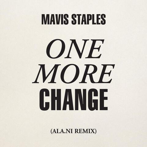 One More Change album art