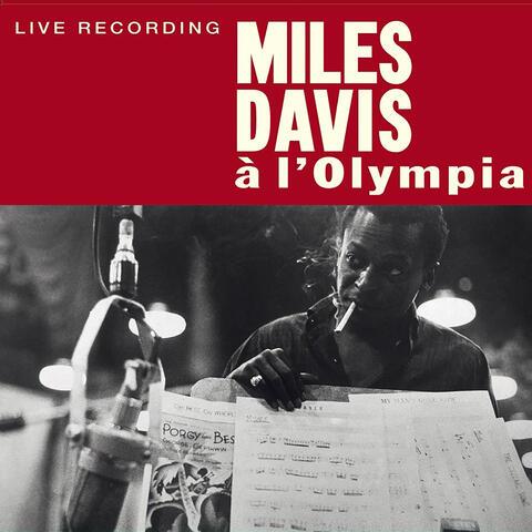 Miles Davis: à l'Olympia album art