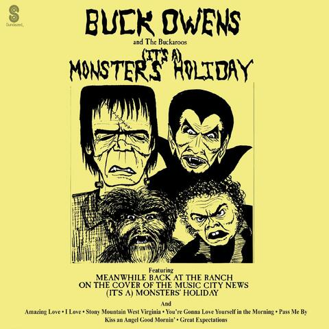 (It's A) Monsters' Holiday album art