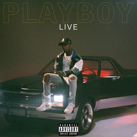 PLAYBOY Live album art