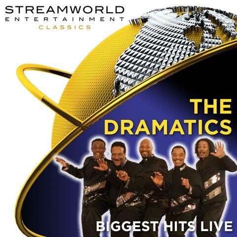 The Dramatics Biggest Hits album art